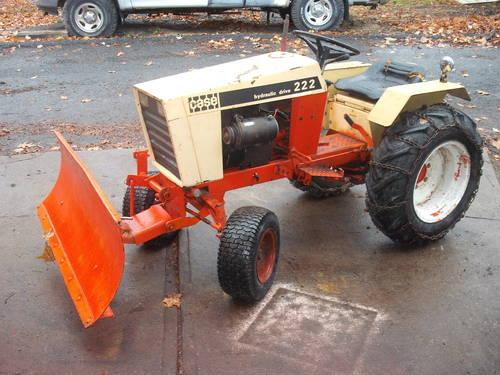 Case 222 Garden Tractor With 54 Plow For Sale In Du Bois
