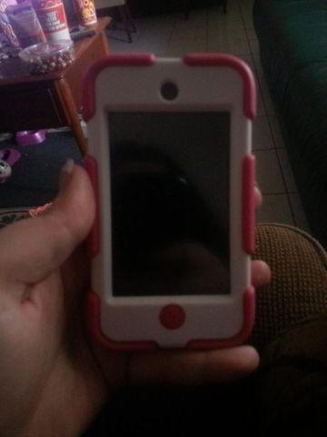 iPod touch with case