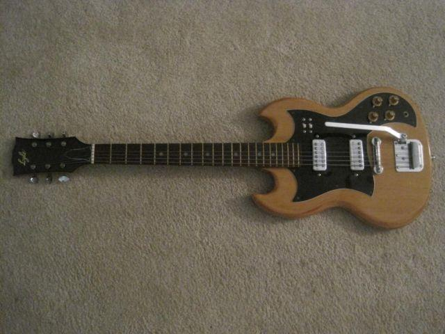 LYLE GUITAR SG with CASE