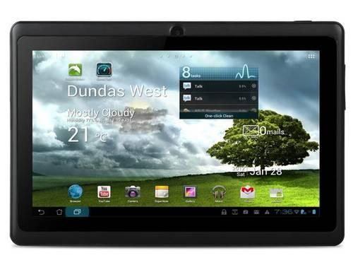 LOT OF 5 Android 4.0 Tablet with Dual Camera 7