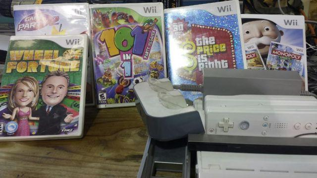 wii systems with games