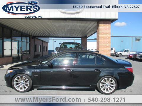 2006 BMW M5 Rear-Wheel Drive with Limited-Slip Differential 4