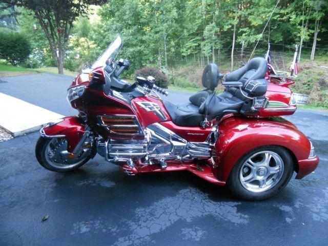 2008 Honda Goldwing Trike With Matching Trailer