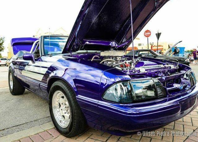 88 mustang with trailer