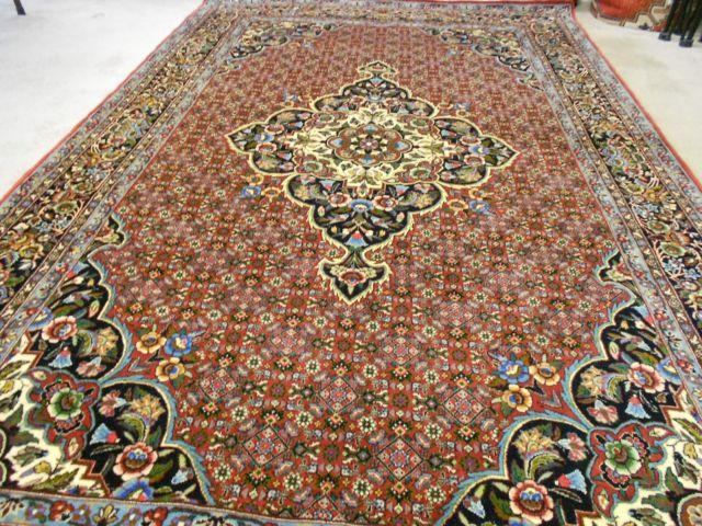 Northwest Tekab ( Bidjar ) Persian Carpet ~ Wool & Silk ~ 2568-095812