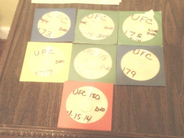 UFC fights on DVD WWE wrestling DVDs included