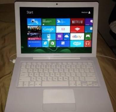 Windows 8 & OS X Lion 13in Macbook