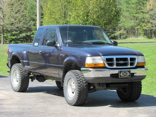 1999 Ford Ranger xlt supercab-Lifted 4x4