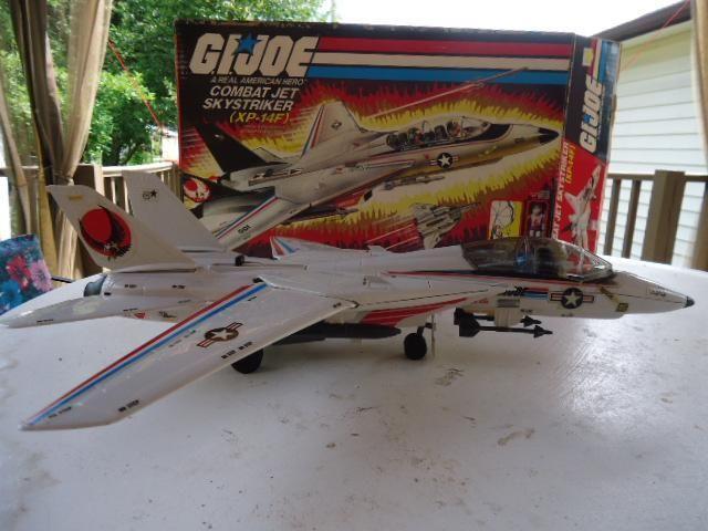 G.I. Joe Combat Jet Skystriker XP-14F By Hasbro Ind. in/box