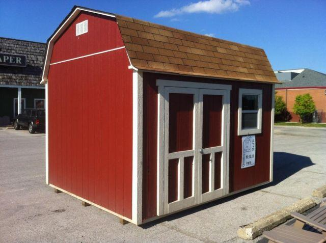 Storage Buildings Built on your lot. Year Round. Park in the garage!