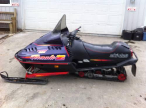 1996 Ski Doo Formula Z 583 Snowmobile For Sale In Ari