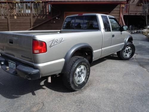 2001 chevy s10 zr2 4x4 for sale in breckenridge colorado classified. Black Bedroom Furniture Sets. Home Design Ideas