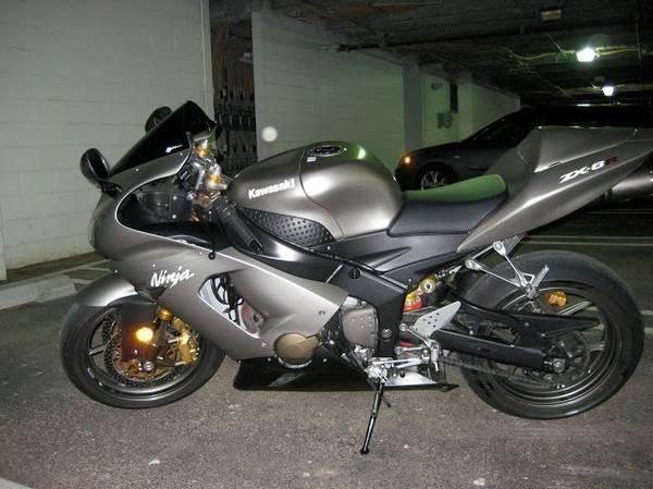 2005 Kawasaki Ninja 636 / ZX-6R - 9,867 Miles!